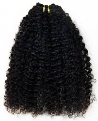 19 Inch Hair Extensions by Natural Curly Textured 100 Virgin Human Hair Wefts