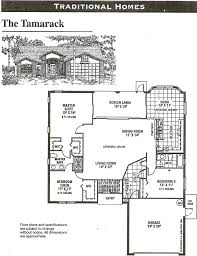 Single Family Floor Plans Heritage Pines Tamarack Floor Plan