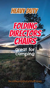 Tall Directors Chair With Side Table Best Heavy Duty Folding Camping Directors Chair Reviews Best