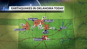 Us Geological Earthquake Map Usgs Oklahoma Home To 40 Of Major American Earthquakes In 2015