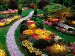 Beauty Garden by The Remarkable Beauty Of Butchart Gardens