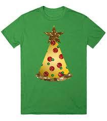sequin pizza christmas tree top shirt tee t shirt t shirt skreened