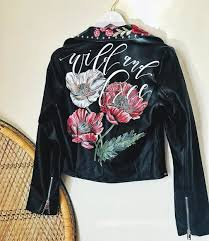 leather jackets 9 painted leather jackets that are wearable works of art