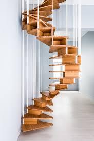 wooden spiral staircase olmo by jo a design sébastien boucquey