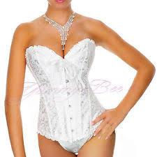 Wedding Corset Lingerie Bridal Lingerie Ebay