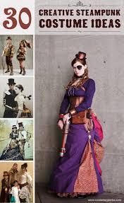 30 creative steampunk costume ideas