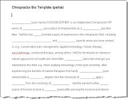Resume Bio Sample by Samples