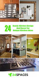 unique kitchen ideas 24 rustic kitchen design and decor for unique kitchen ideas 24