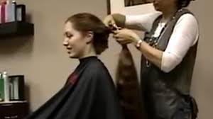 haircut on redhead long to short hair cut make sure to like and