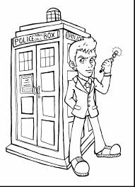 surprising doctor who coloring book pages with dr who coloring