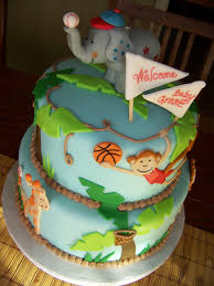 photo martha stewart baby shower cupcake image