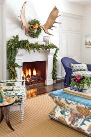 Wallpaper For Livingroom Our Favorite Living Rooms Decorated For Christmas Southern Living