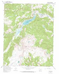 National Forest Map Colorado by Platoro Topographic Map Co Usgs Topo Quad 37106c5