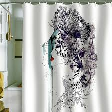 Shower Curtains Ideas For Designs For The Modern Bathroom Interior - Bathroom curtains designs