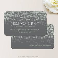 wedding planner business wedding planner business cards chagne bubbles business card
