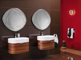 Small Bathroom Large Tiles Small Wooden Dresser Vanities Bathroom Large Mirror Master