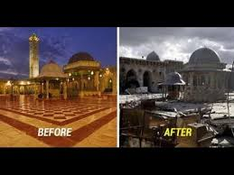 syria before and after 10 disturbing before and after images of syria war destroyed the