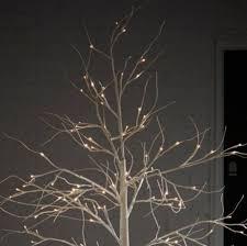 6ft white birch pre lit tree co uk kitchen home