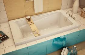 Drop In Tub Home Depot by Round Large Capacity White Acrylic Shower Bathtub Kohler Maestro