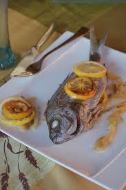 cuisiner une daurade daurade au four aux deux citrons au fil du thym