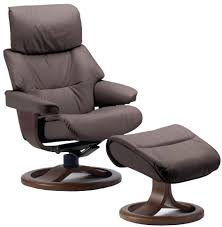 Brown Recliner Chair Ottoman Recliner Chair And Ottoman Fjords Grip Leather Ergonomic
