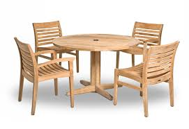 4 Seat Dining Table And Chairs Wellspring Dining Table