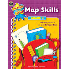 Map Practice Map Skills Grade 3 Tcr3728 Teacher Created Resources