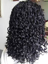 long hair curly spiral perm perm fine hair and spiral