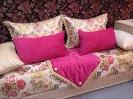 tissu pour canapé marocain salon marocain confortable haut design salon deco marocain