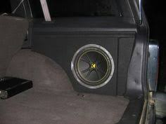 jeep wrangler speaker box single car black subwoofer box sealed automotive enclosure for