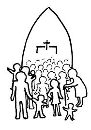 pictures of people singing in church free download clip art
