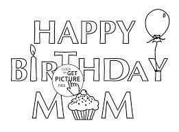 150 best birthday coloring pages images on pinterest coloring