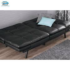 Sofa Sleeper Leather Leather Futon Sleeper Sofa Seat Convertible Sectional