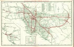 Map Of Los Angeles Area Beaches by Freeway System In The Los Angeles Area 1960 With Map Of Los