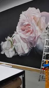best 25 flower mural ideas on pinterest wallpaper murals testing out beautiful new work getting very excited about our next collection