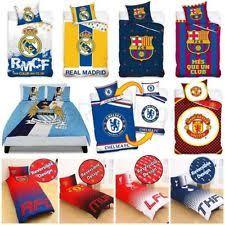 Manchester United Double Duvet Cover Manchester United Double Football Duvet Quilt Cover Set Kids