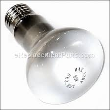 popcorn machine light bulb bulb 029163 for waring appliance ereplacement parts