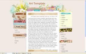 templates for blogs 28 images navigation menu ready templates