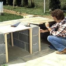cuisine exterieure beton plan de travail exterieur beton cuisine extacrieur plan de travail