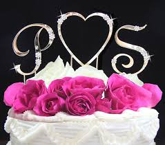 letter wedding cake toppers jewelry by rhonda wedding jewelry bridesmaid s jewelry cake