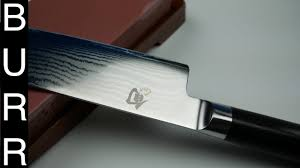 Shun Kitchen Knives by How To Sharpen And Polish Shun Classic Chef Knife On Whetstone
