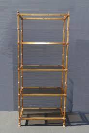 Gold Bookcase Furniture Home Washitapebookcase 6 Modern Elegant New 2017