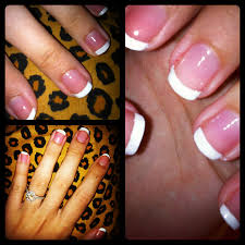 my secret to a perfect diy french manicure champagne taste on