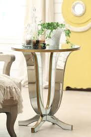 attractive mirrored furniture round subtract and curve leg