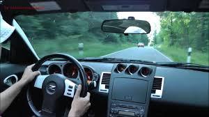 nissan 350z steering wheel nissan 350z street race onboard