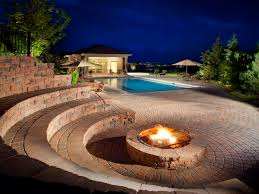 how to light a fire pit fire features light up your pool area swimmingpool com