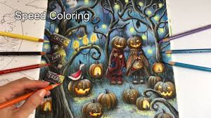 the halloween speed coloring romantic country the third tale