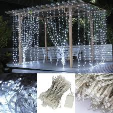 beautiful 3 3 m 300 led curtain light string new year icicle lights