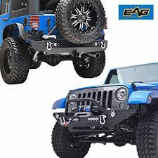 led lights for jeep wrangler jk eag jeep wrangler jk led lights front bumper with winch plate and