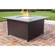 Allen Roth Fire Pit by Shop Fire Sense 44 88 In W 50 000 Btu Bronze Portable Aluminum